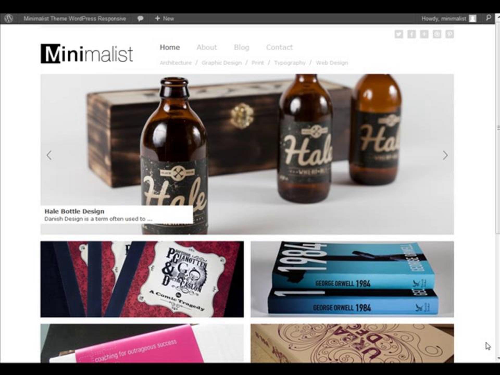 Minimalist WordPress Theme Overview