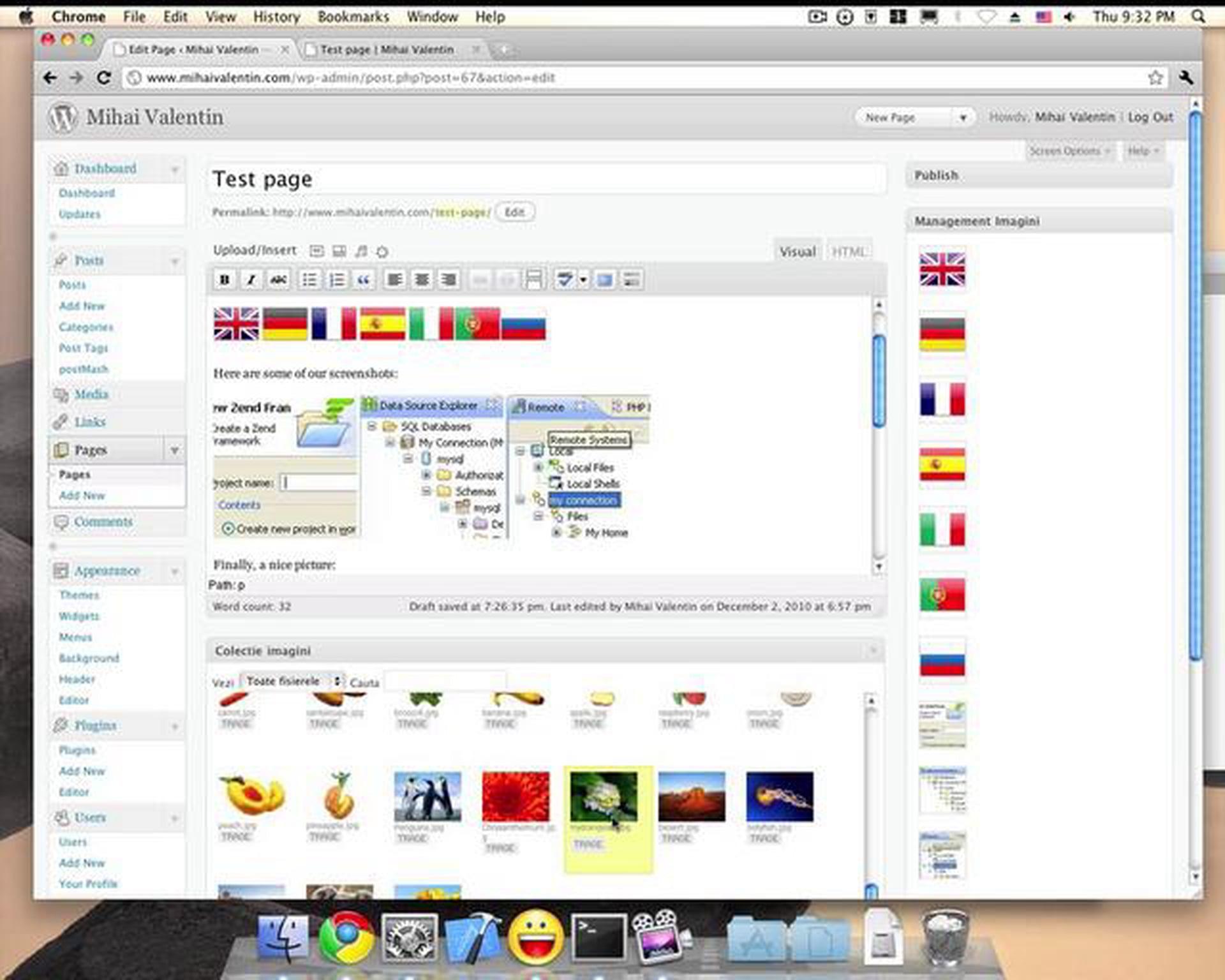 WordPress Image Management plugin
