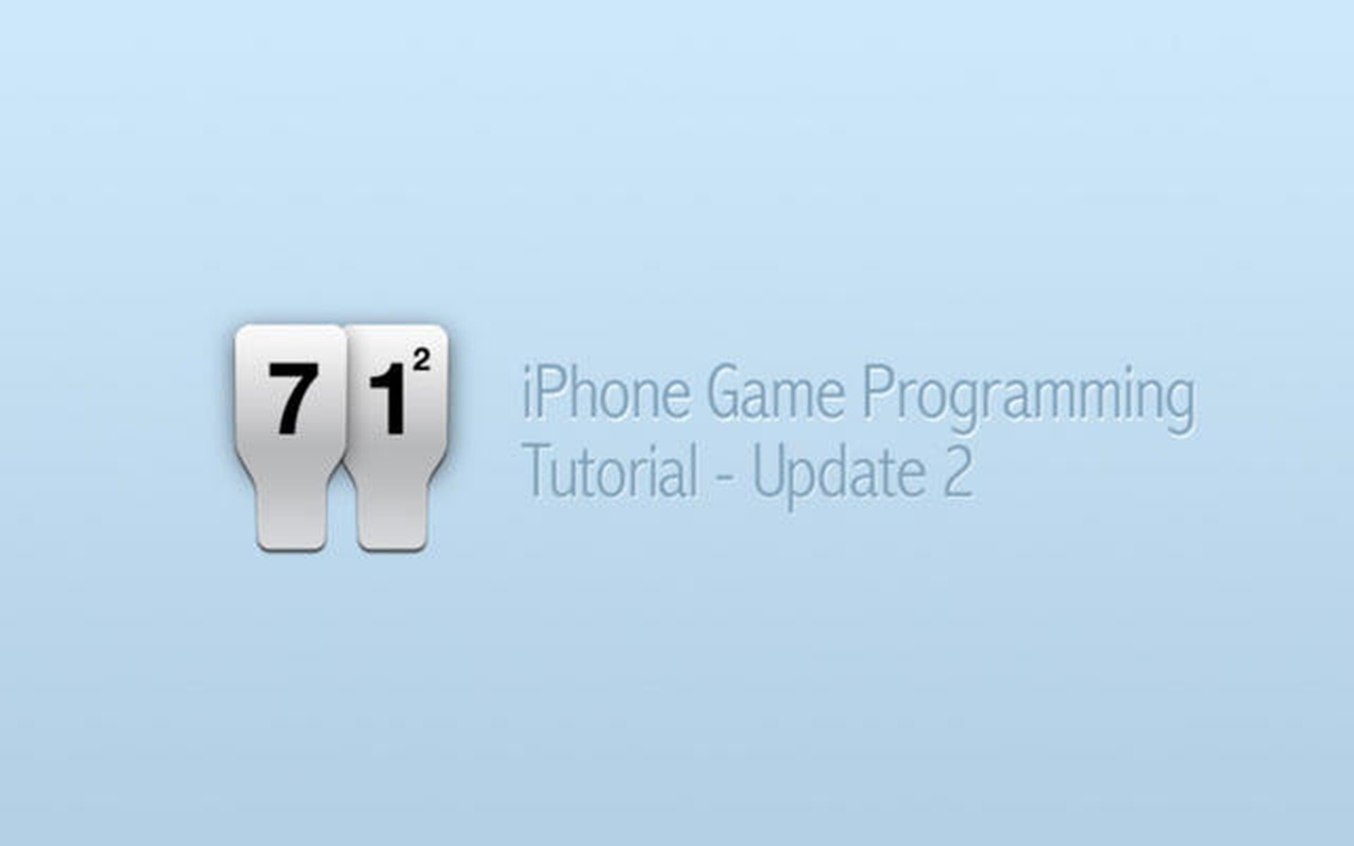 iPhone Game Programming – Tutorial Update 2