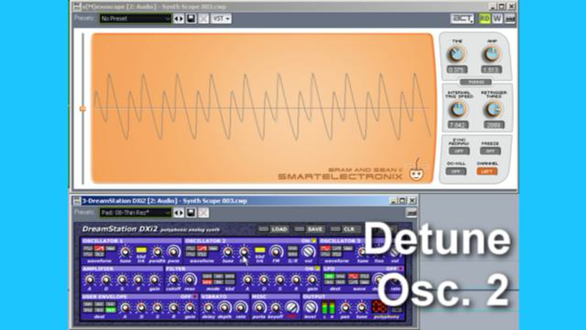 How to program analog synthesizers