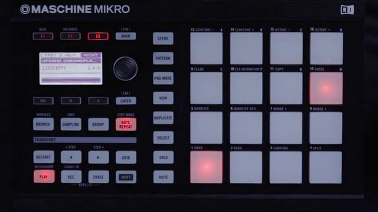 Maschine Mikro: Advanced Programming & Effects