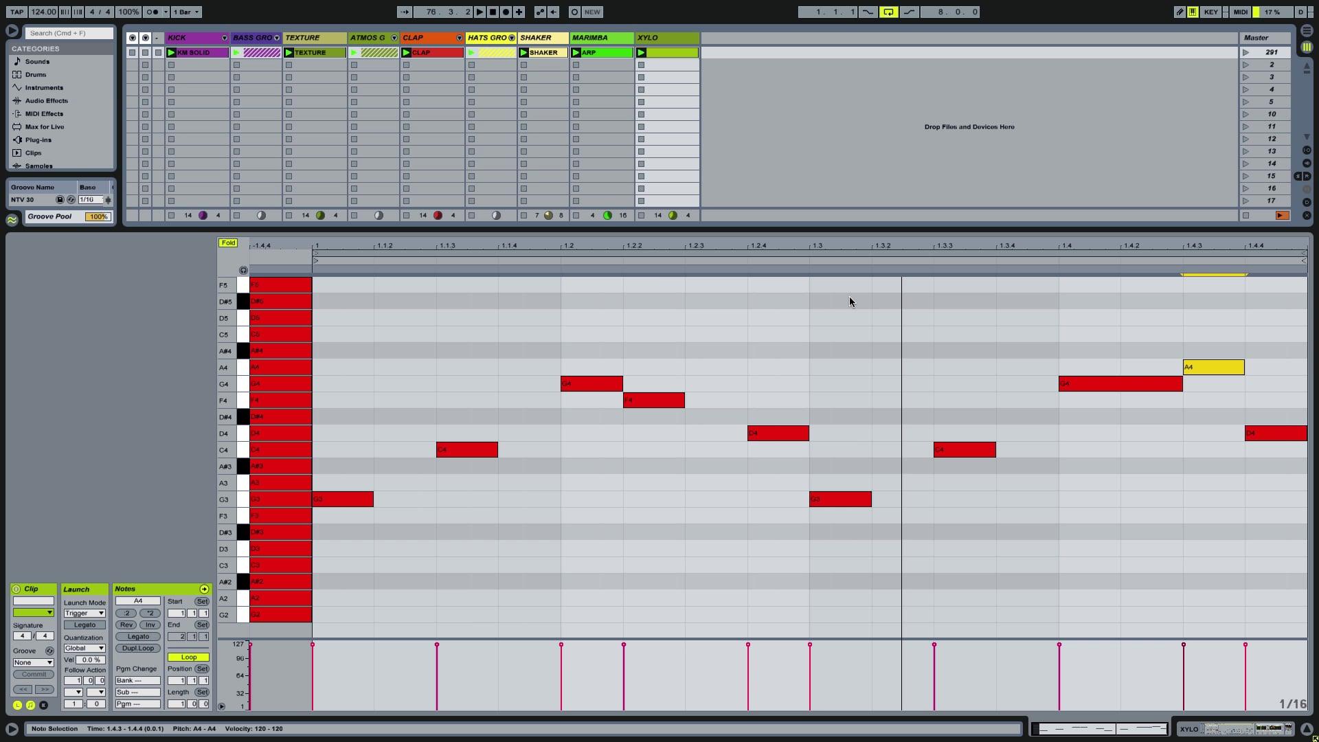 Ableton Tutorial – Programming Melodies In Key