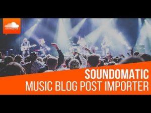 Soundomatic Automatic Post Generator Plugin for WordPress