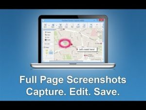 How to make a full page screenshot of a web page and post it to your WordPress blog?