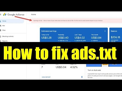 how-to-fix-adsense-error-earnings-at-risk-how-to-create-ads-txt-on-blogspot.jpg