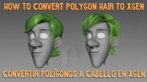 Polygon to Xgen Tutorial (Eng/Esp)
