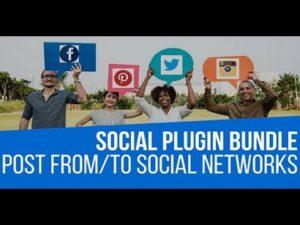 Social Auto Poster WordPress Plugin Bundle by CodeRevolution