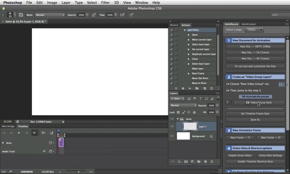 "Patch ""Anim_Dessin"" panel 2.0.1 for Photoshop CS6"