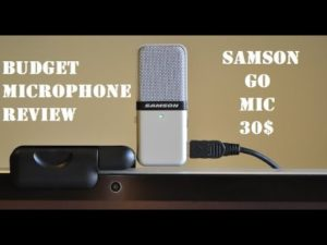 I bought a new microphone today (compare the sound quality of built-in vs external microphone)