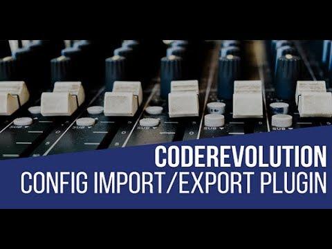 CodeRevolution Configuration Import/Export Helper Plugin for WordPress