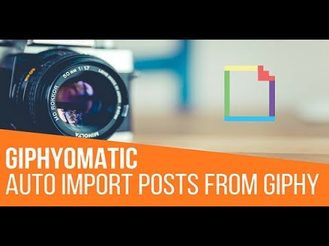 Giphyomatic Automatic Post Generator Plugin for WordPress