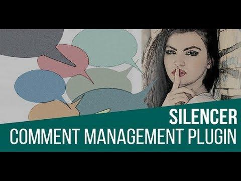 Silencer Comment Management Plugin for WordPress