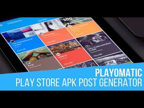 Playomatic Automatic Post Generator Plugin for WordPress