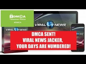 DMCA sent! Viral News Jacker, your days are numbered!