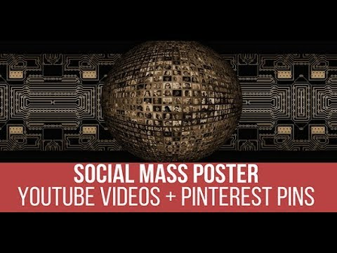 Social Mass Poster Plugin for WordPress