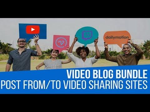 Video Blog Auto Poster WordPress Bundle by CodeRevolution