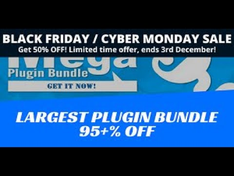 Mega Bundle 50% OFF for 12 hours! Get all my plugins for an incredible price!