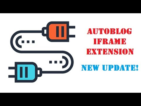 Autoblog Iframe Extension update: it is able to be disabled for different rules from plugins