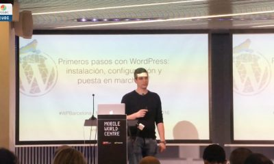 Meetup WordPress Barcelona: Iniciación a WordPress