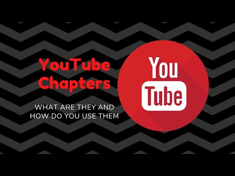 Tutorial: How to set up YouTube video chapters?