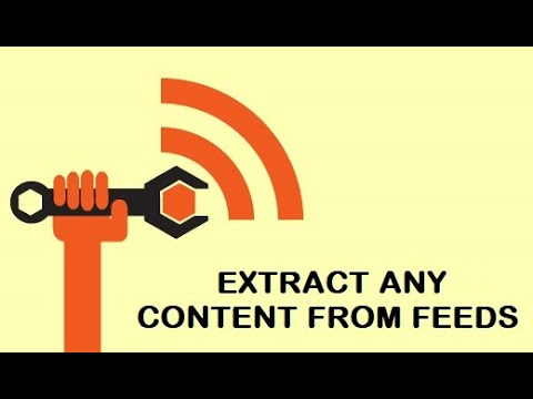 Echo RSS Feed Importer: get custom attribute from custom feed tags from any RSS feed