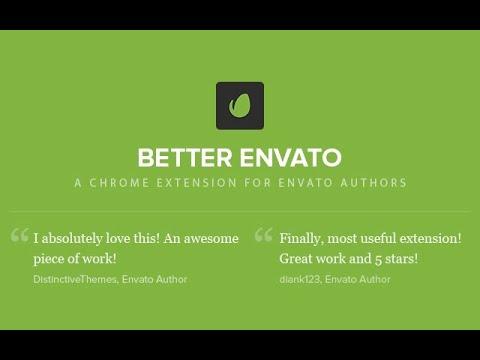 Better Envato Chrome extension review