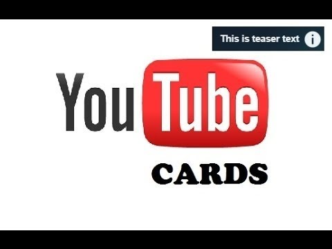 New YouTube video upload cards editor feature added to YouTube Studio