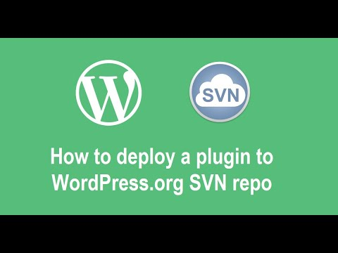 How to deploy a plugin to WordPress.org SVN repository after it was approved