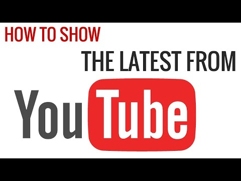 How to import latest videos from a YouTube channel each time the Youtubomtic plugin runs?
