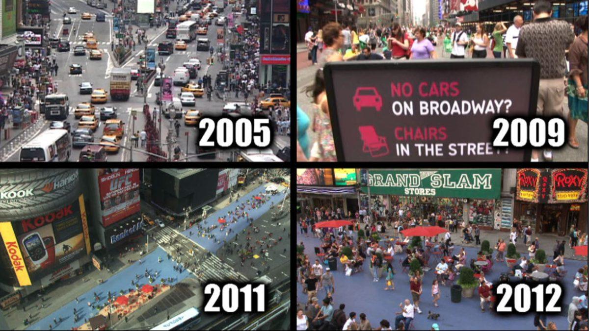 NYC Streets Metamorphosis
