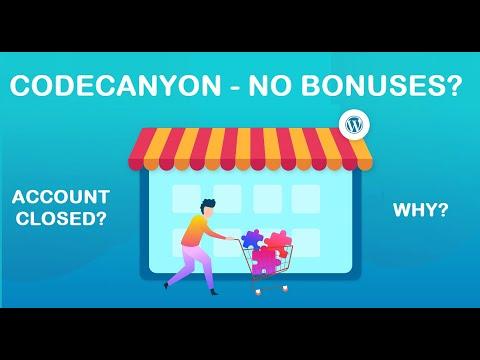 CodeCanyon – why no free bonuses for purchases?