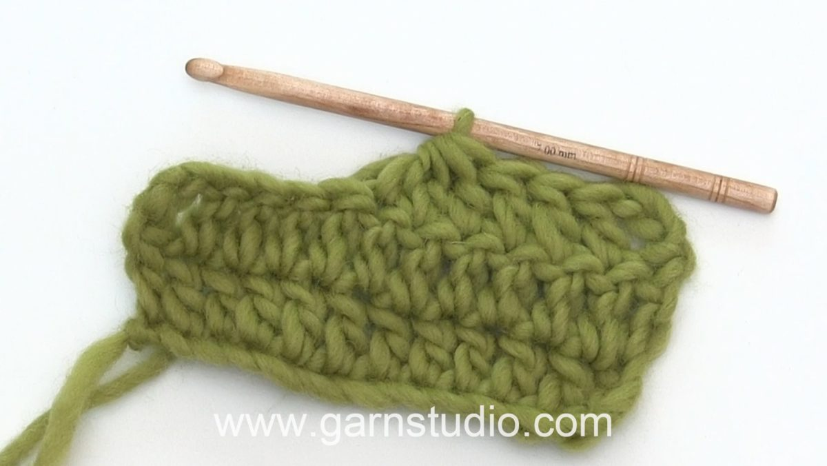 How to crochet a stitch group (or decrease)