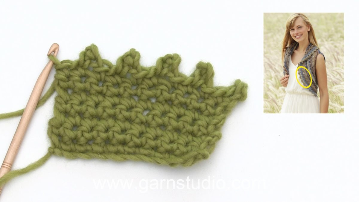 How to crochet a small picot