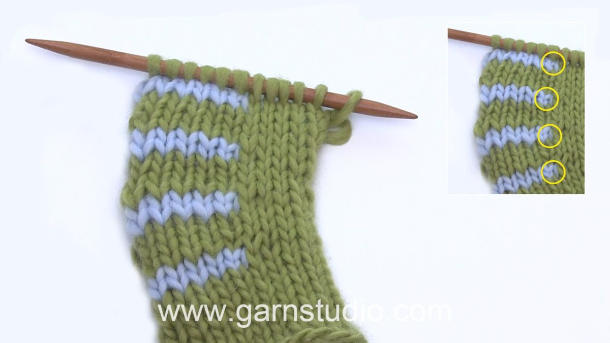 How to knit short rows with wrap on wrong side (WS)