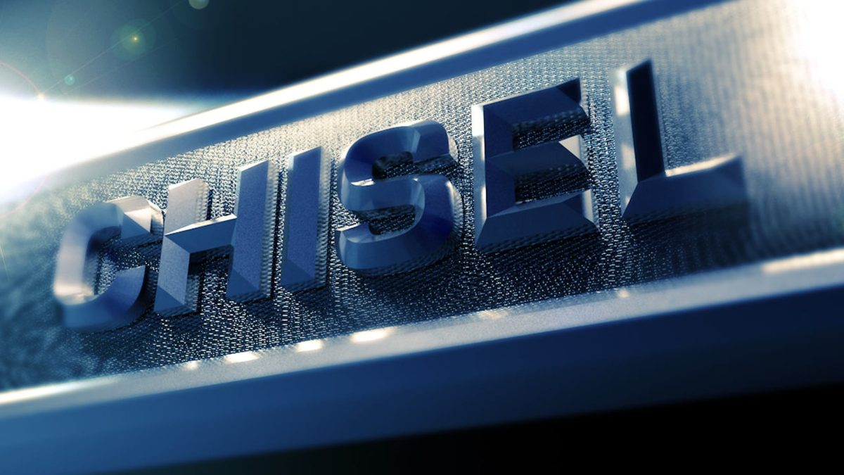 How to Make Chiseled Text in Cinema 4D