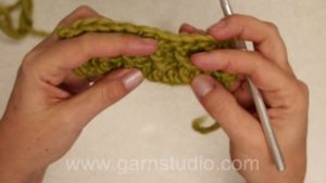 How to crochet a relief pattern (aka raised crochet)