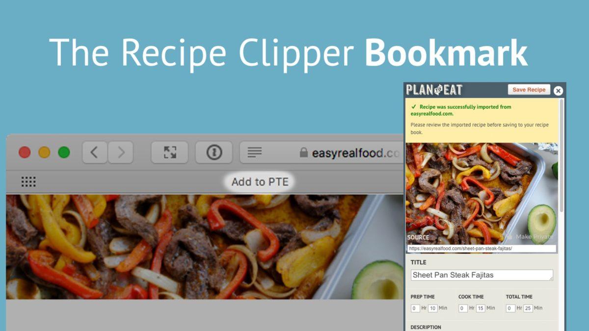 RECIPES – The Recipe Clipper (Bookmark)