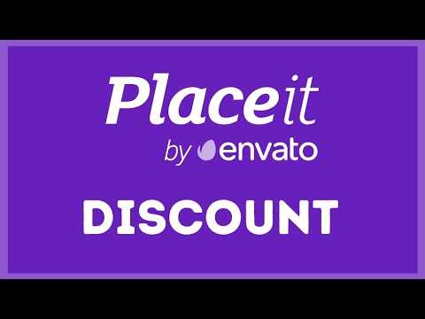 ⏰ GET Envato PlaceIt Subscription COUPON (Limited Time Offer)⏰