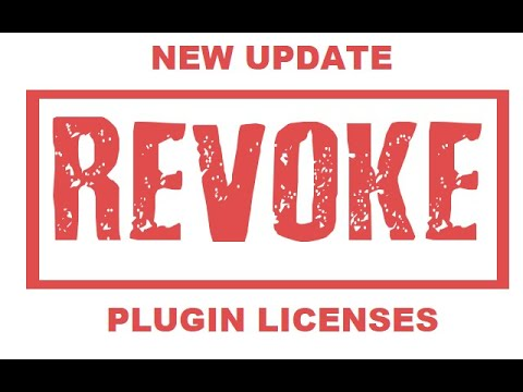 New update for plugins: Revoke License Button Added to Dashboard